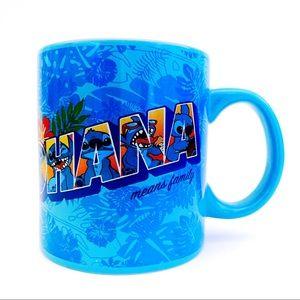 🆕 Disney Lilo & Stitch Ohana Hawaiian Coffee Mug